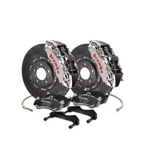 Series Cross Drilled 2-Piece Rotor Brake Kit