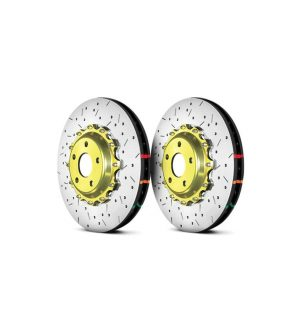 Brembo – Cross Drilled 2-Piece Rotor Big Brake Kit